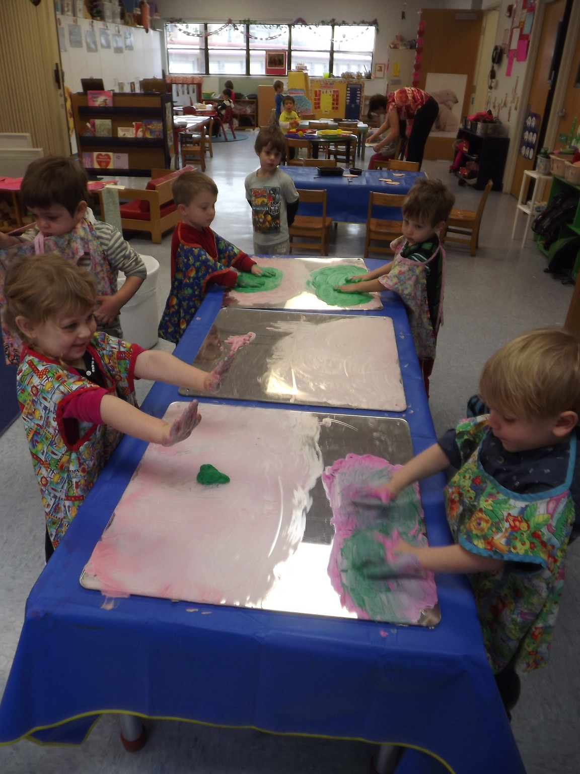 Handpainting in 3's Classes
